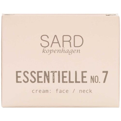 Køb SARD kopenhagen Essentielle ansigtscreme m. arganolie 50 ml online hos apotekeren.dk