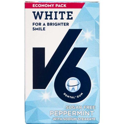 Køb V6 Økonomipakke White Peppermint Tyggegummi ca. 50 stk. online hos apotekeren.dk