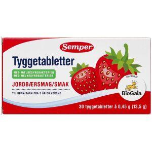 Køb Semper BioGaia tyggetabletter 30 stk. online hos apotekeren.dk