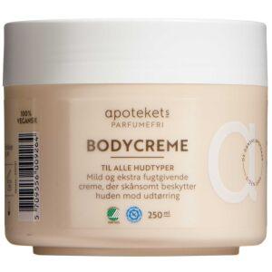 Køb Apotekts Bodycreme u. parfume 250 ml online hos apotekeren.dk