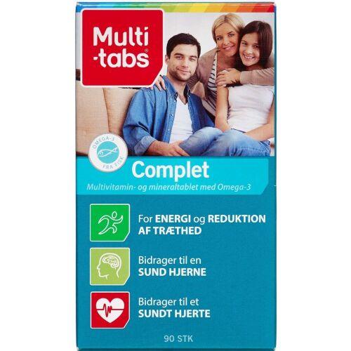 Køb Multi-tabs Complet vitamin kapsler 90 stk. online hos apotekeren.dk