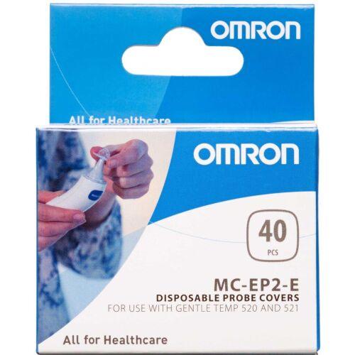 Køb Omron beskyttelseshætter til gentle temp 520 & 521 40 stk. online hos apotekeren.dk