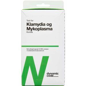 Køb Dynamic Code Test til klamydia/mycoplasma kvinde 1 stk. online hos apotekeren.dk