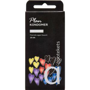 Køb Plan kondomer mix 10 stk. online hos apotekeren.dk
