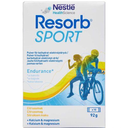 Køb Resorb Sport pulver 10 x 9,2 g online hos apotekeren.dk