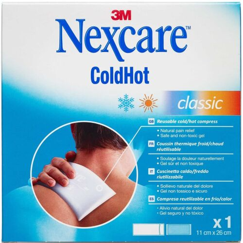 Køb 3M Nexcare ColdHot Classic 26x11 cm 1 stk. online hos apotekeren.dk