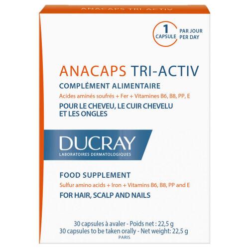 Køb Ducray Anacaps 30 stk. online hos apotekeren.dk