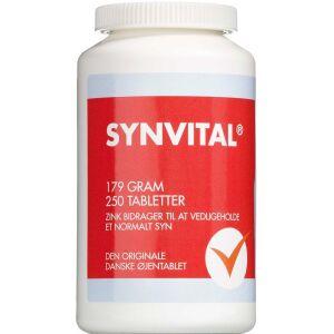 Køb Synvital tabletter 250 stk. online hos apotekeren.dk