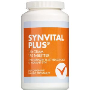 Køb Synvital Plus 185 stk. online hos apotekeren.dk