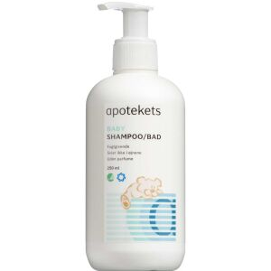 Køb Apotekets Baby Shampoo/Bad 250 ml online hos apotekeren.dk