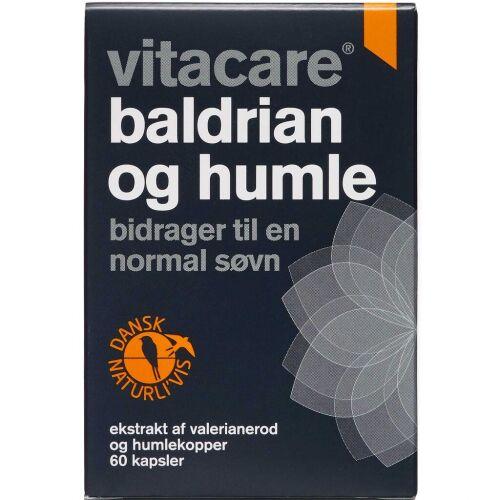 Køb VitaCare Baldrian og Humle kapsler 60 stk. online hos apotekeren.dk
