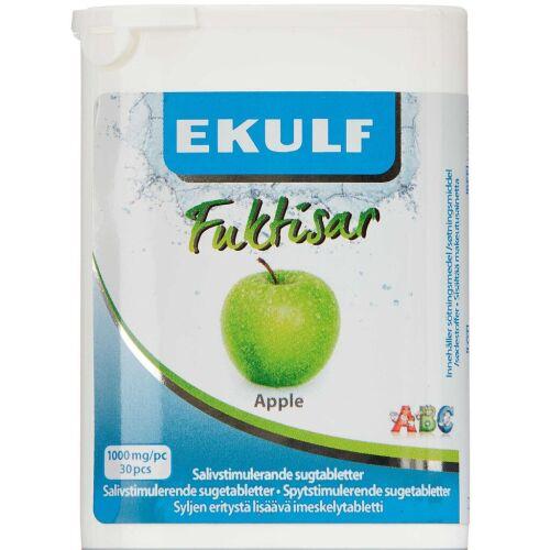 Køb Ekulf Fuktisar Apple 30 stk. online hos apotekeren.dk