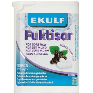 Køb Ekulf Fuktisar Black Currant 30 stk. online hos apotekeren.dk