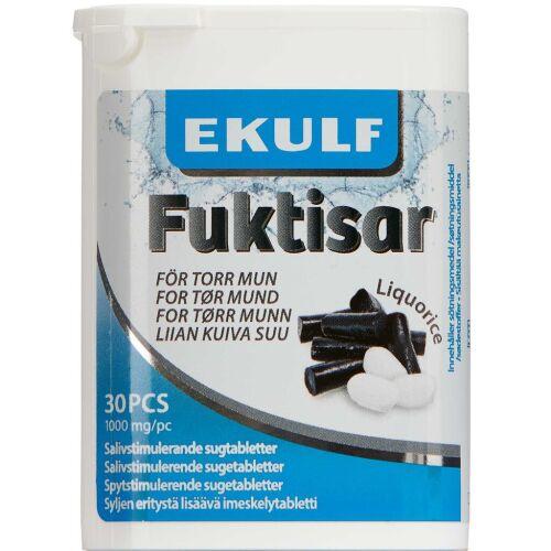 Køb Ekulf Fuktisar Liquorice 30 stk. online hos apotekeren.dk