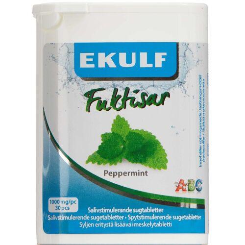 Køb Ekulf Fuktisar Peppermint 30 stk. online hos apotekeren.dk