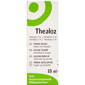 Køb Thealoz øjendråber 3% 10 ml online hos apotekeren.dk
