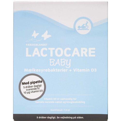 Køb Lacrocare Baby dråber kosttilskud 7,5 ml online hos apotekeren.dk