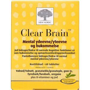 Køb Clear Brain tabletter 60 stk. online hos apotekeren.dk