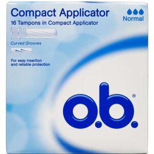 Køb o.b. Normal Tampon Applicator 16 stk. online hos apotekeren.dk