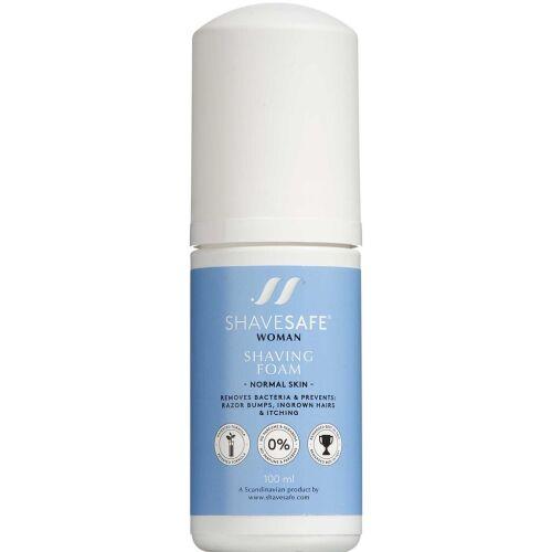 Køb ShaveSafe Barberskum normal hud 100 ml online hos apotekeren.dk
