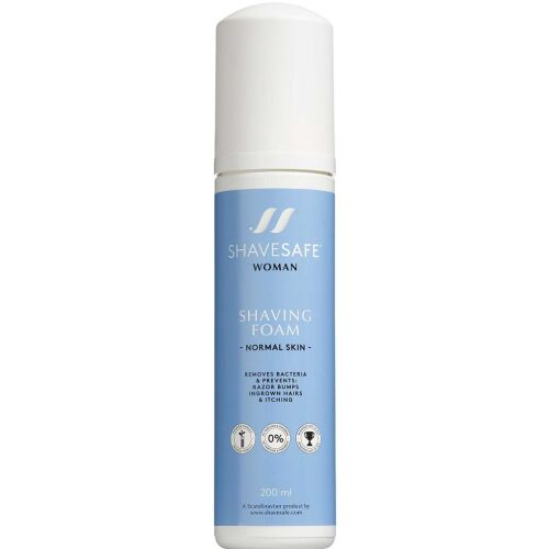Køb ShaveSafe barberskum, til normal hud 200 ml online hos apotekeren.dk