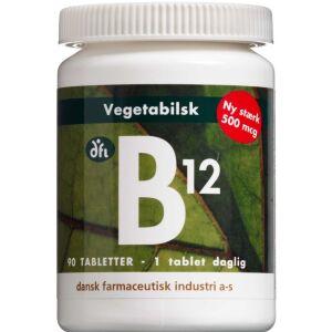 Køb B12-vitamin tabletter 90 stk. online hos apotekeren.dk