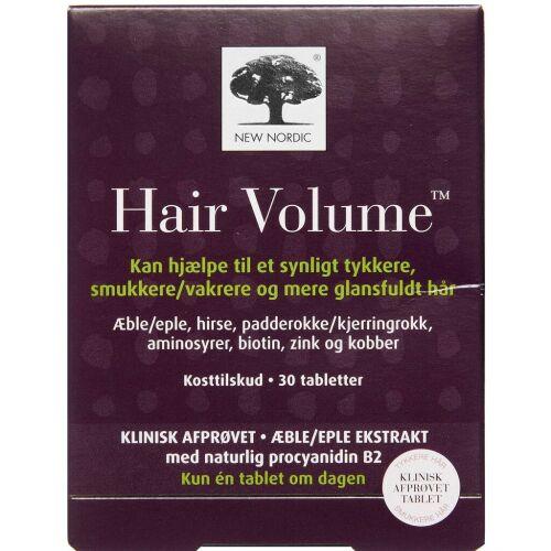 Køb Hair Volume tabletter 30 stk. online hos apotekeren.dk