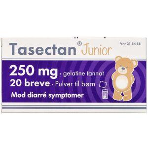 Køb Tasectan Junior breve 250 mg 20 stk. online hos apotekeren.dk