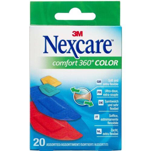 Køb 3M Nexcare Comfort 360° Color 20 stk. online hos apotekeren.dk