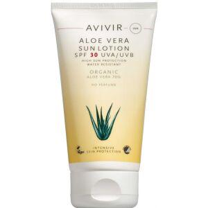 Køb AVIVIR Aloe Vera Sun Lotion SPF 30 150 ml online hos apotekeren.dk