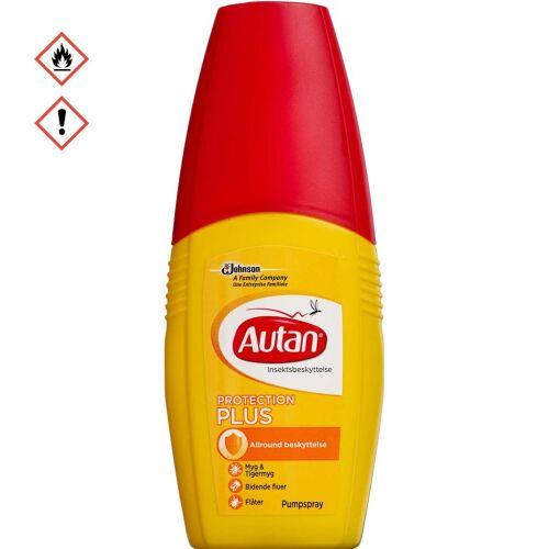 Køb Autan Protection Plus pumpespray 100 ml online hos apotekeren.dk