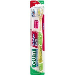 Køb GUM Technique PRO tandbørste voksen, blød 1 stk. online hos apotekeren.dk