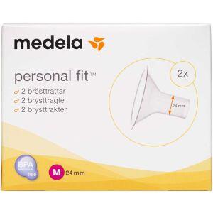 Køb Medela brysttragt str. 24 mm 2 stk. online hos apotekeren.dk