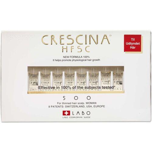 Køb Crescina HFSC 100% 500 WOMAN 20x3,5 ml online hos apotekeren.dk