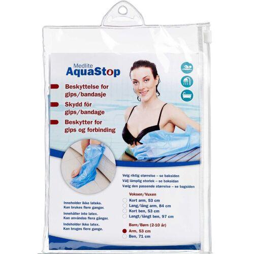 Køb Aquastop beskyttelse barn, arm, 53 cm 1 stk. online hos apotekeren.dk