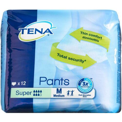 Køb Tena Pants Super medium 12 stk. online hos apotekeren.dk