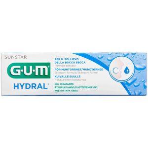 Køb GUM Hydral gel 6000SEPI mod mundtørhed 50 ml tube online hos apotekeren.dk