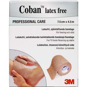 Køb Coban elastisk bind 7,5 cm x 4,5 m latex free 1 stk. online hos apotekeren.dk