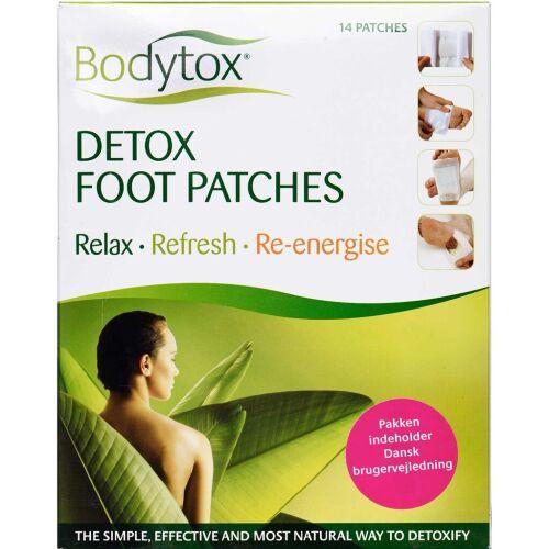 Køb Bodytox Detox foot patches - stor pakke 14 stk. online hos apotekeren.dk