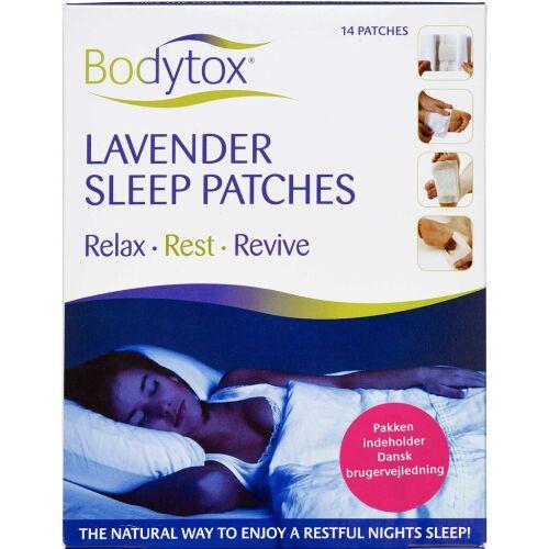 Køb Bodytox Lavendel sleep patches - stor pakke 14 stk. online hos apotekeren.dk