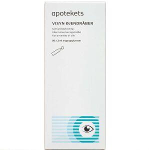 Køb Apotekets Visyn øjendråber 50x2 ml online hos apotekeren.dk