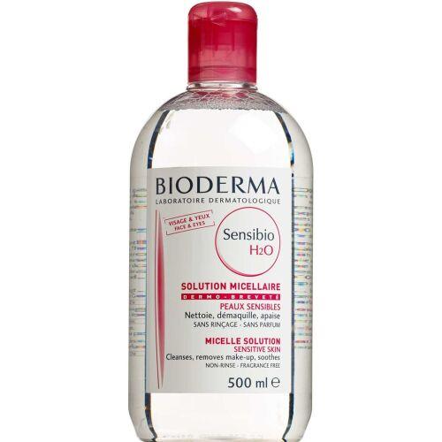 Køb Bioderma Sensibio H2O Rensevand 500 ml online hos apotekeren.dk