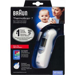 Køb Braun ThermoScan 7 termometer med alderspræcision 1 stk. online hos apotekeren.dk