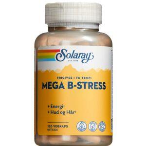 Køb Solaray Mega B-stress 120 stk. online hos apotekeren.dk