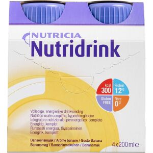 Køb Nutridrink Banan 4 x 200 ml online hos apotekeren.dk
