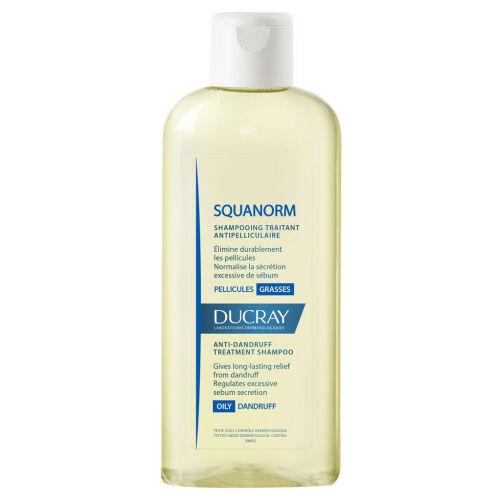 Køb Ducray Squanorm Oily Shampoo 200 ml online hos apotekeren.dk
