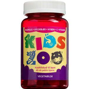 Køb Kids Zoo vetabilsk Propolis kosttilskud 60 stk. online hos apotekeren.dk