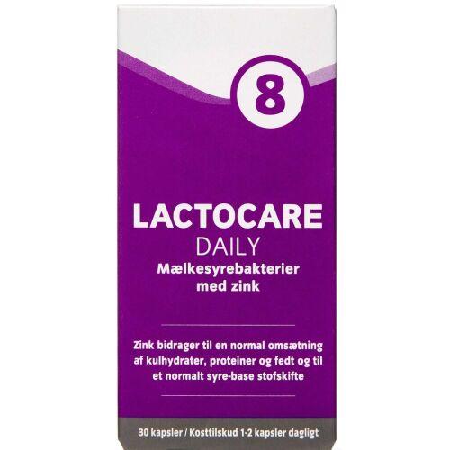 Køb Lactocare Daily kapsler 30 stk. online hos apotekeren.dk