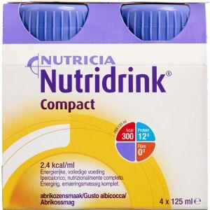 Køb Nutridrink Compact Abrikos 4 x 125 ml online hos apotekeren.dk