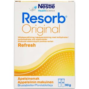 Køb Resorb appelsin brusetablet 2 x 10 stk. online hos apotekeren.dk